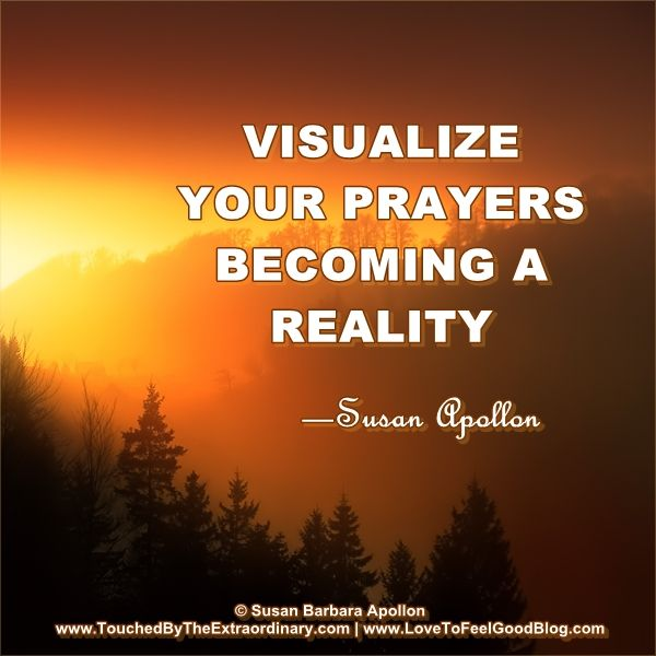 Visualize Your Prayers